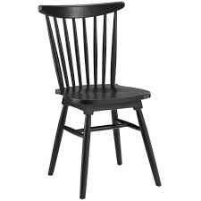 Black Wood Dining Chairs Frazen Chair Modern Furniture O Brickell Collection