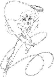 Small Picture 18 best Super Hero Girls images on Pinterest Coloring pages