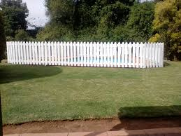 picket fence for