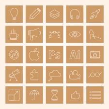 Resume Icons Free Stylish Resume Template And Resume Icons Ai File Good Resume 81