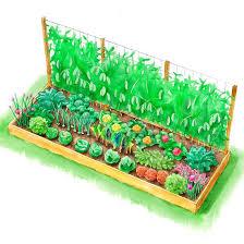 white house inspired raised garden bed plans
