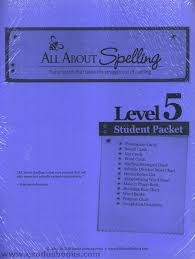 All About Spelling Phonogram Chart All About Spelling Level 5 Student Materials Packet