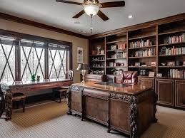 traditional home office ideas. Traditional Home Office With Flush Light Ceiling Fan In Waxhaw Regard To Homeofficelight Ideas I