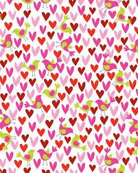 Birds & Hearts Gift Wrap