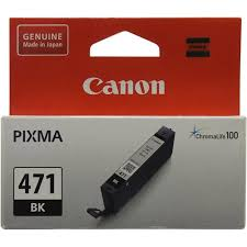 Оригинальный <b>картридж Canon CLI</b>-<b>471BK</b> Черный (<b>Black</b> ...
