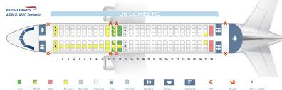 United Airlines Airbus A320 Seating Chart British Airways Fleet Airbus A320 200 Details And Pictures