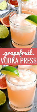 gfruit vodka press lemon tree