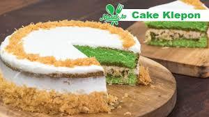 Kalau tak punya banyak waktu dan tak terlalu mahir bikin kue, cobalah cake yang satu ini. Cake Klepon Patiseri 053 Youtube