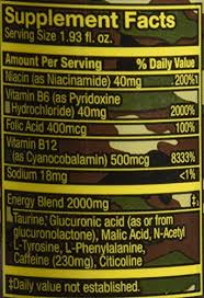 amazon 5 hour energy drink shot extra strength sour apple 12 count health personal care
