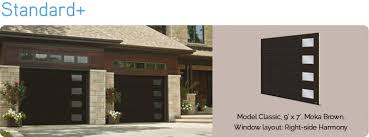 brown garage doors with windows. Standard+ Brown Garage Doors With Windows