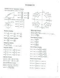 calculus review sheet math references video math teacher