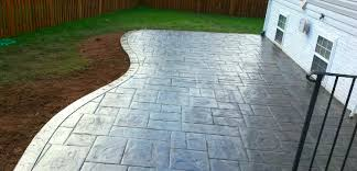 the good shape of flagstones patios. Curved Concrete Patio Shapes The Good Shape Of Flagstones Patios S