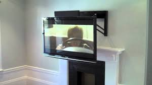 decoration outstanding mounting a tv over a fireplace and