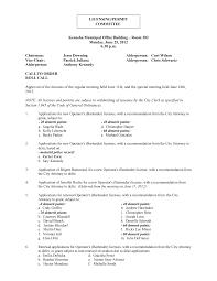 Kenosha Municipal Office Building – Room 202 Monday, June 25, 2012 6:30  p.m. Chairman: Jesse Downing Alderperson: Curt Wilson