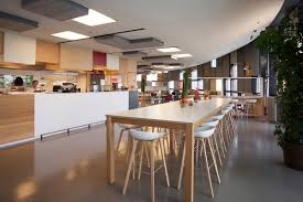 office cafeteria design. Steelcase Is One Of The Leaders In Research \u0026 Design For Future Office/ Workspace. This A Photo Their New Work Cafe @ Global Headquarters. Office Cafeteria B