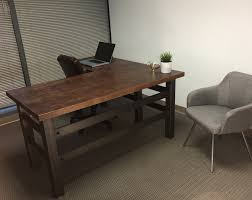 plan rustic office furniture. Interior Design Rustic Desk Office Regarding Decorating Plan Furniture 4