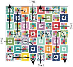 Tips for Quilting a Large Quilt | Cluck Cluck Sew & You don't have to start and end on the edges…and it's really hard to smoosh  the whole quilt through the machine neck ... Adamdwight.com