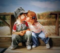 Download Cute kiss hd wide wallpaper ...