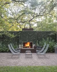 gardening 101 creeping fig fireplace wallfireplace gardenmodern outdoor