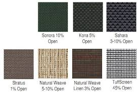 outdoor fabric sun shades. solar screen fabric options for exterior sun shades and outdoor a