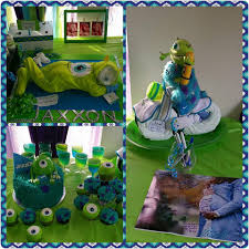 Monster Inc Baby Shower Decorations Baby Shower Photos Monsters Inc Theme Boy February 2016