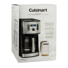 Cuisinart coffee maker is just the best. Cuisinart Programmable Coffee Maker 14 Cup