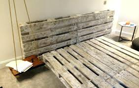 diy pallet bed pallet bed frame wood pallet bed frame pallet bed frame with lights pallet diy pallet bed