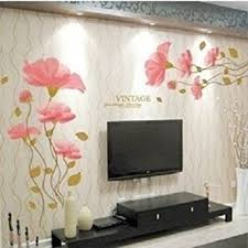 Small Picture DIY Removable lotus flower Home room Decor Removable Wall Sticker