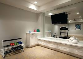 workout room ideas home contemporary 6 floor to ceiling mirrors are storage k52 storage