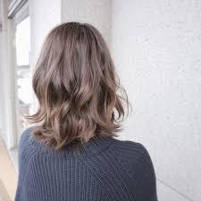 愛され髪型no1セミロングにはグラデーションカラーがお似合いhair