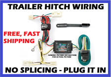 nissan trailer plug ebay Hitch Wiring Kit Fits 2008 2015 Nissan Rogue Harness trailer hitch wiring fits 03 07 nissan quest plug play wire harness