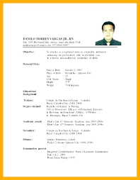 Resume Format For Nurses Interesting Nurse Resume Format Businessdegreeonlineco