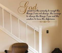 wall decal serenity prayer vinyl wall decal decor art quote large font prayer wall and wall decals on large serenity prayer wall art with wall decal serenity prayer vinyl wall decal decor art quote large