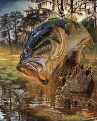 largemouth bass jumping. Exellent Largemouth Largemouthbassjumpingeatingartpaintingjasonmathias To Largemouth Bass Jumping U