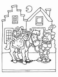 Kleurplaat Sint En Piet Fris 111 Beste Afbeeldingen Van Sinterklaas