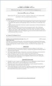 Lpn Resume Examples Ceciliaekici Com