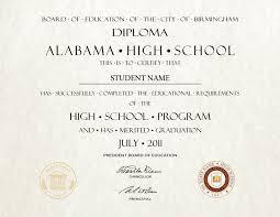 high school diploma name fake high school diploma 8 diploma outlet