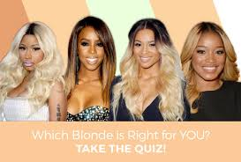 Hair Style Quiz want to know the perfect blonde for your skin tone take the 5919 by wearticles.com