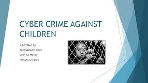 cyber crime against children