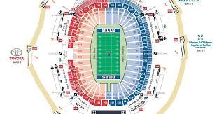 Seating Chart Bills Stadium Valid Ralph Wilson Stadium Seat Chart Ralph Wilson Stadium