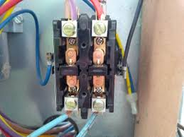 air conditioning single pole contactor wiring schematics wiring Single Pole Contactor Diagram ac capacitor and contactor wiring fan not working how to single pole contactor wiring diagram