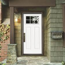 white front doorsPreHung Exterior Doors For Houses  Wearefound Home Design