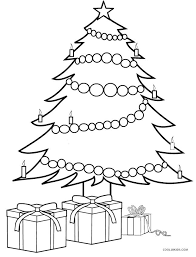 Printable Christmas Tree Printable Christmas Tree Coloring Pages For Kids Cool2bkids