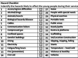 Risk Assessment Template (Film And Tv/media Students/whole School ...