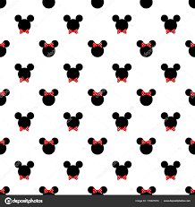 Seamless Pattern Symbol Mickey Mouse Stock Vector Image by ©Elentina  #179227972
