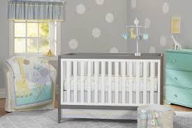 Circular Crib Bedding 3 Piece Baby Boy Crib Bedding Set Animals Theme Nursery Bassinet