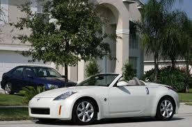 nissan 350z convertible white.  Convertible 350zroadster04 2004 Nissan 350Z 4100890005_large Inside 350z Convertible White