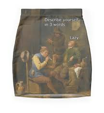describe yourself in words mini skirts by classicalmemes describe yourself in 3 words