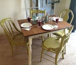refinishing dining room table refinishing dining table with chalk paint rustic kitchen tables spray painting furniture