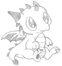 It S Here Cute Baby Dragon Coloring Pages Tremendous Page Free